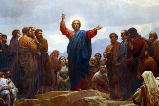 Sermon on the Mount Copenhagen Church Alter Painting