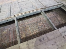 The original floor