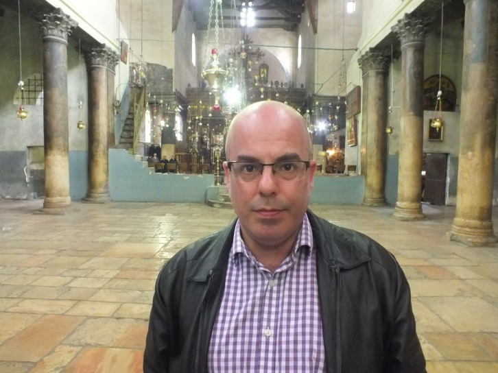 Me in the nave