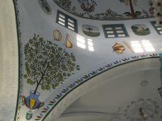 Roof of the kabbalah synagogue