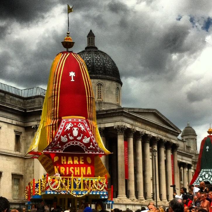 Hare Krishna float