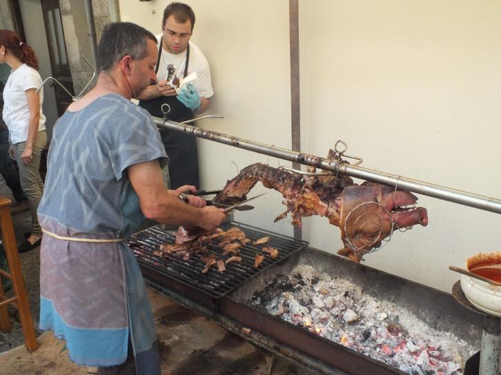 A hog roast