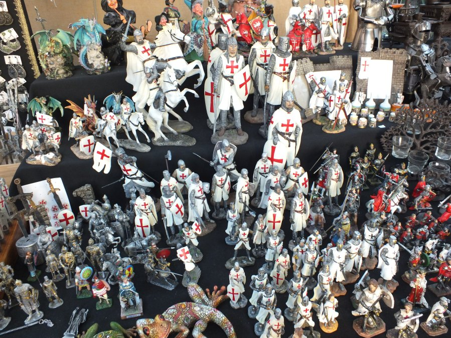 A load of Templar knights