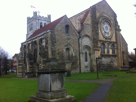 Waltham Abbey today