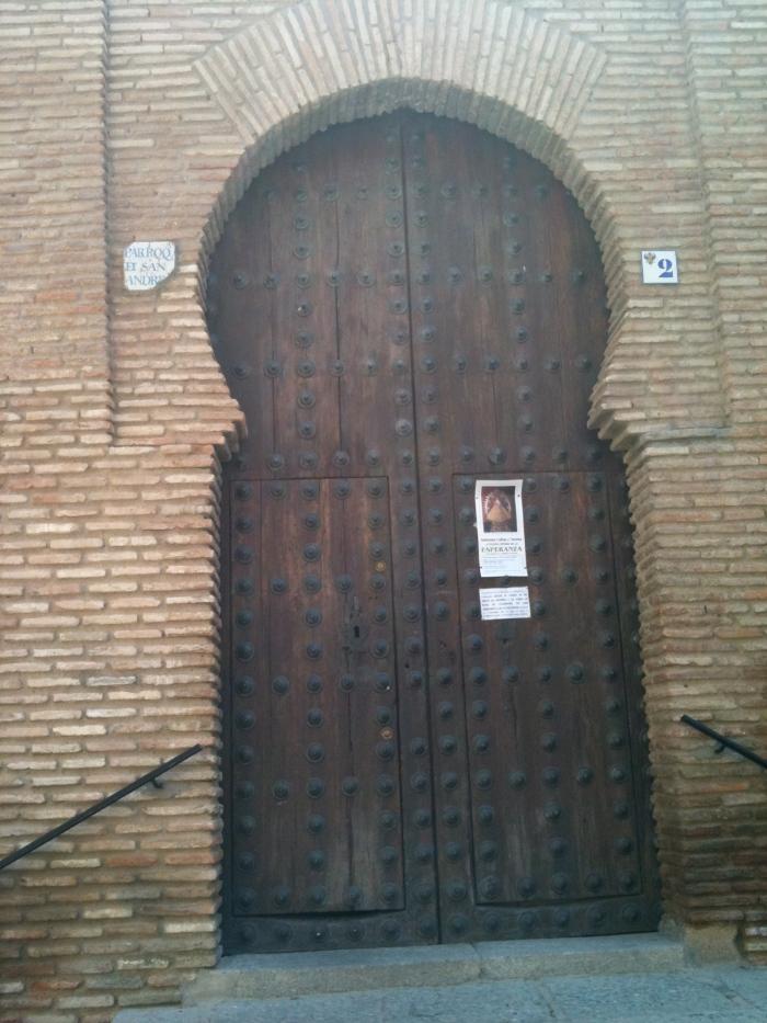 A door in Toledo