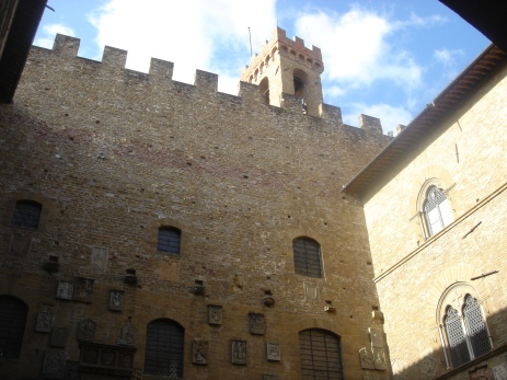 Inside the Bargello
